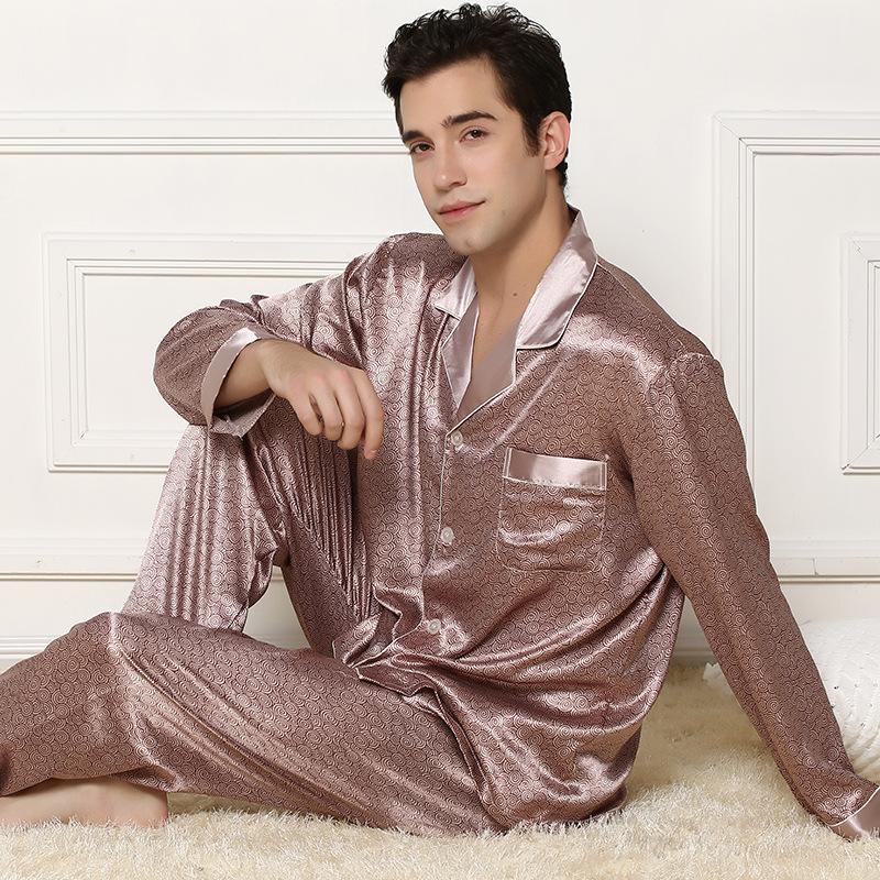 Вилочная часть шелк пижама осень и зима шелк пижама длинная - рукав вилочная часть комплект шелк mulberry пижама костюм-двойка