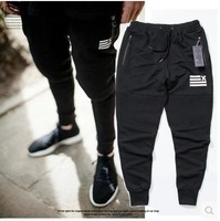 Free shipping New style fashion brand dead fly Street Ninja jogging ankle banded  knitted self-cultivation calf casual pants