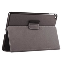 Newest Casual 2-fold Cloth Texture Leather Case with Holder and Sleep Function for iPad Air 2 Tablet PC Leather Protective Cover