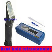 Free shipping  brix 58~90% Fruit sugar Brix Refractometer  P-RHB-90ATC with Hard case