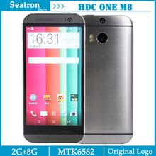 "HDC One M8 Phone 2GB Ram 8GB Rom MTK6582 Quad Core 1.3gHz Smart Mobile Phone 5.0"" 1280*720 13MP Dual LED flash Camera(China (Mainland))"