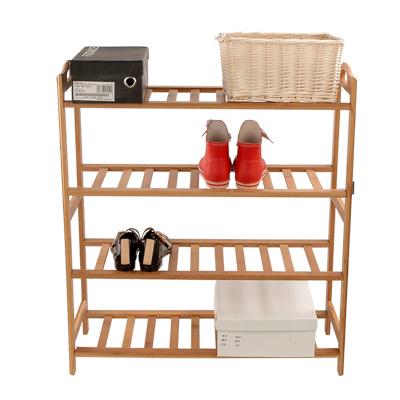 University dormitory artifact creative shoe storage rack shelving home kitchen bamboo arts management arm(China (Mainland))