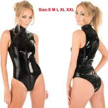 Latex Wet Look Catsuit