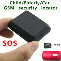 Child / Elderly / car GSM security locator X009 GSM Sim Camera Recorder with SOS and real-time GPS tracker with 8GB TF card