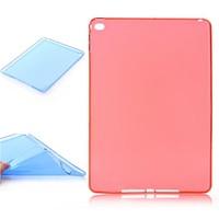 Latest Fashion Ultrathin Soft TPU Mate Back Silicone Clear Case Back Cover Skin Shell for Apple iPad Air 2 iPad 6