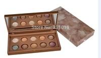 HOT Makeup Eyeshadow NUDE 10 Color Mineral Eye Shadow Plates 6g(150pcs/lot)+ Gift! Freeshipping