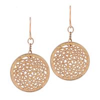 Fashion Moden Big Gold Plated Simple Hollow Pendants Statement Drop Earrings for Women Girls Bijoux