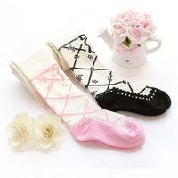 SKL S033 strip children tight winter/autumn knit cotton stockings elastic princess ballet accessories birthday gift hot saling