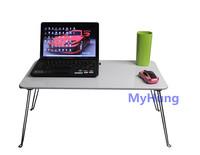 Novelty functional folded laptop desk computer desk notebook laptop table free shipping