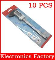 """10pcs  Accuracy 6"""" inch 150mm  Digital LCD Caliper Vernier Gauge Micrometer metric Measuring Tool Carbon Fiber +retail packaging"""