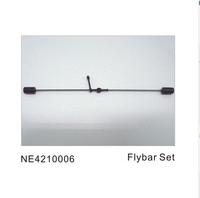 F01135  Nine Eagles 210A RC helicopter balance bar set NE4210006 / aileron stick/ flybar