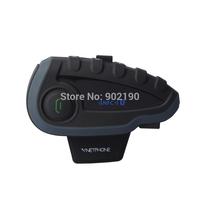 Vnetphone V8  bluetooth helmet intercom NFC remote control motorcycle radio capacete full duplex wireless headset 1200m range