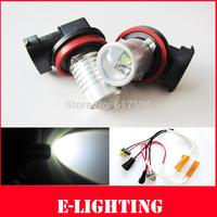 2pcs NO Error H11 LED Fog Lights For BMW E63 E64 E90 E91 E92 E93 328i 328xi 335i 335xi X5 E53 E70 E46 325i 330i X3 E83 Z4