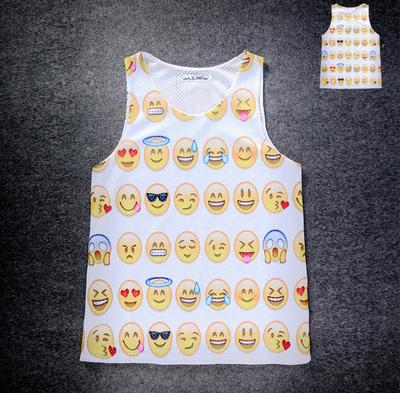Женский топ GetUbacK 2015 & emoji 3D , SB499
