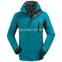 Very Top Quality 4 Colors Men Warm Skiing Jackets Winter Windproof Outdoor Sports Coat Men Waterproof Jacket S-3XL Drop Shipping