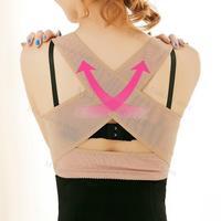 Made Adult Correct Posture Corrector Back Support Belt Shoulder Vest Brace Free Shipping Shaper