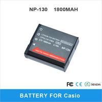 NP-130 1800mAh For Casio Digital Camera EX-ZR100, EX-ZR300 Li-ion Battery