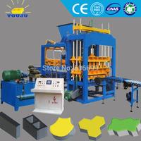 full automatic hydraulic cement brick making machine/construction machinery