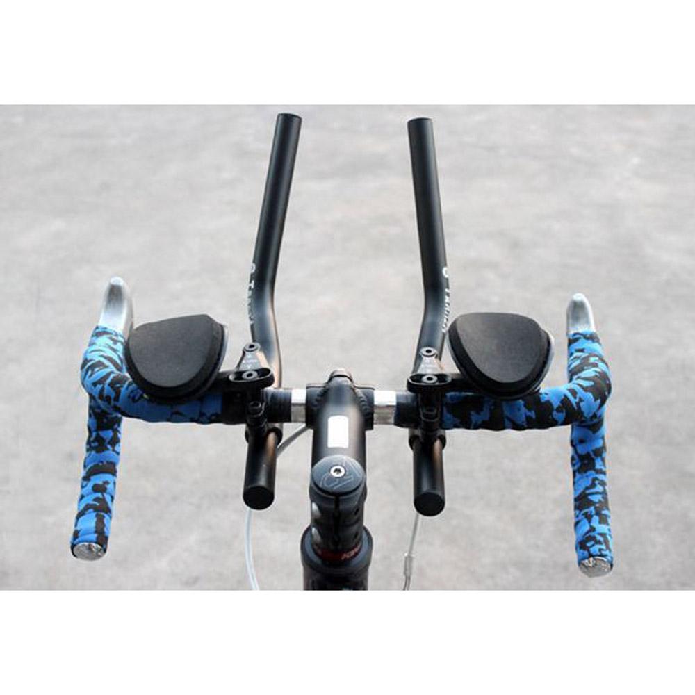 High Quality Aluminum Alloy Sponge Cushion Bike Bicycle Mountain Road MTB Cycling Handlebar Split Vice Rest Handle Bar 40cm(China (Mainland))
