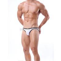2015 NEW Men's Boy's Sexy Model bikini bottom swimwear swimming shorts / Trunks Boxers Briefs Low Rise Underwear  Smooth Elastic
