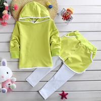 Clothing sets girls clothing sets girl suit set hoodie+long pants children sportswear kids clothes disfraces infantiles HB102