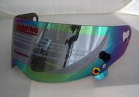 Glazed steel atv motorcycle pc lens crg atv helmet for 3m m helmet lens