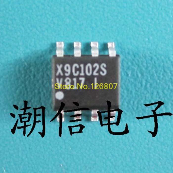X9C102S SOP-8 Марка акции оригинальная Нью-