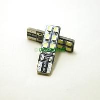 10Pcs T10/168/194 6000K White 12-SMD 1210/3528 Canbus Error Free LED Lights Bulbs  #J-1930