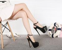 2015 European style retro fashion style elegant  sexy women pumps beautiful 16CM high heels women shoes size35-40