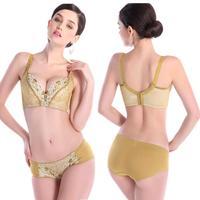 2015 New Intimates Push Up VS Secret Women Bra Underwear Set Brand Seamless Lingerie Lace Bra and Panty Set Box Packing.