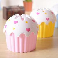 Organizador Home decoration Cup Cake ice cream Type paper towel Plastic Tissue Box Napkin Holder Case 2743