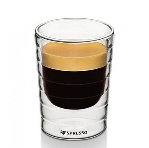 Glass Lungo Cups Nespresso