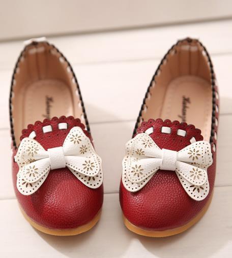 Кожаная обувь для девочек 2015 182B