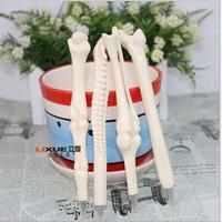 10pcs/lot Creative bones novelty ballpoint pens lovely bones ball pen korean stationery