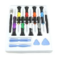 Mobile Phone Repair Tools 16 in 1 Screwdrivers Set Kit For iPad 4 5 6 Air iPhone 6 Plus 5 4S 3GS Opening Pry Tools