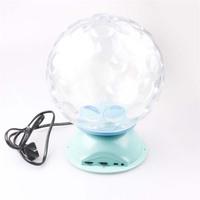 Waterproof crystal magic ball led light, free shipping