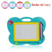 2015 High Quality Baby Kids Magic Drawing Writting Preschool Toy Magnetic Sketchy Tablet Board delivery randomly WJ0184(China (Mainland))