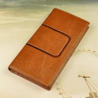 2015 designer men wallets famous brand style genuine leather wallet men's long wholesale purse