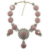 2015 New design wholesale women fashion necklace costume resin gem chunky choker bib statement Necklace