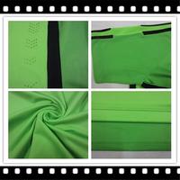 2015 JutusFC Player Version LLORENTE Third Shirt ,Men Outdoor Breathable MORATA 14/15 Green Shirt,Size S-XL,Free Ship