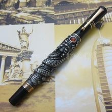 Jinhao китайский » огненный дракон thomsonae » авторучка с подарочной коробке золото белый старинное серебро дополнительно J89TE5