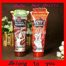 10PCS(5PCS Coffee +5 PCS Chilli) Free Shipping 85ML YILI BALO Body Slimming Cream Massage Gel Weight Loss Cream