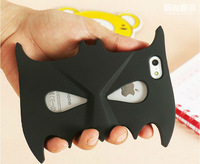 "3D Cartoon batman mask soft silicon cool cover back phone case for iPhone 6 4.7"" YC071-6"