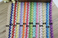 free shipping mix color cotton embroidery lace, Water soluble cotton lace,DIY manual bow hair clip lace