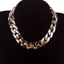 2015 New Design High Quality Colorful Vintage Jewelry Woman's Statement Chokers Necklace Necklaces & Pendants Christmas Gift