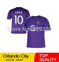 New Orlando City 2015 Soccer jersey Soccer jersey 14 15 Home purple football shirt kit KAKA 10 GERRARD Major League Soccer