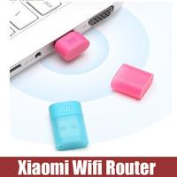 Original New Xiaomi Mini Portable USB Wireless WiFi Router Network Adapter Built-in 8GB Flash Drive Black