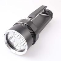 Waterproof  6xCREE XM-L T6 4500LM LED Flashlight , free shipping