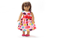 "Free shipping!!! hot 2014 new style Popular 18"" American girl doll clothes/dress Christmas gift B216"