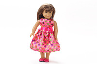"""Free shipping!!! hot 2014 new style Popular 18"""" American girl doll clothes/dress b217"""